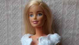 White suit for Barbie dolls