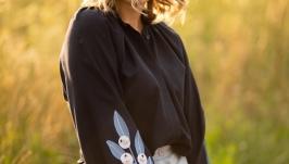Вишита жіноча блуза BELL FLOWERS