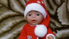 Новорічний набір ′Санта′ для Baby Born