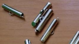 Концевики трубочки 25 мм