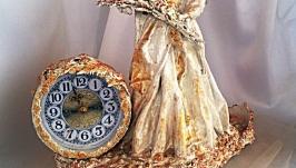 Часы каминные Берегиня