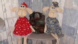 Текстильные овечки