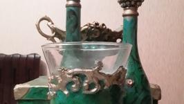 бутылка -графин декоративная