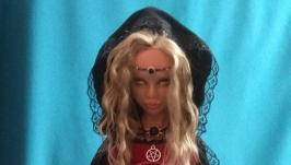 Интерьерная кукла Ведьма.