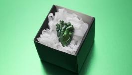 Брошка анатомічне серце,  подарунок на День Святого Валентина