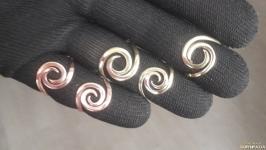 Кольцо «Спираль»