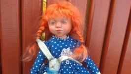 Интерьерная кукла болтушка