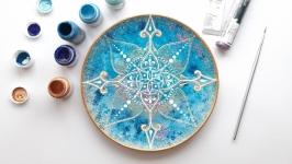 декоративная тарелка ′Space′