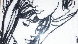 Вышитая картина ′Нежные чувства ′