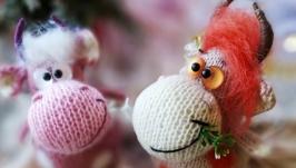 игрушка коровка