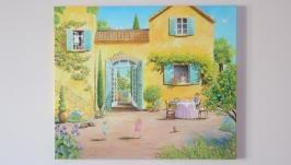 Картина маслом Жизнь в Провансе
