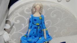 Кукла в стиле Тильда Кристель 48см