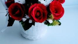 тут изображено Корзина роз