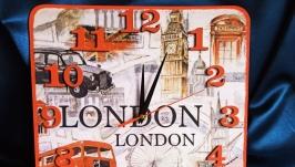 Интерьерные настенные часы ′Лондон′, отличный подарок и декор дома