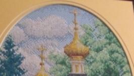 картина ′Золотые купола′