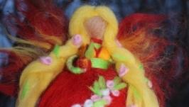 Кукла из шерсти Фея лета