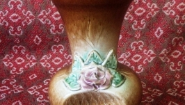 Ваза керамическая глиняная посуда ручная работа гуцульский подарок