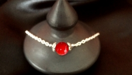 Necklace Pendant Silver Jewelry handmade bracelet ametyst coral lava gift