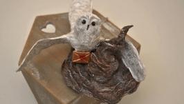елочная игрушка из ваты Гарри Поттер коллекционная рост 17Х15 см