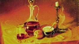 Натюрморт с подсвечником Still life with the Candlestick