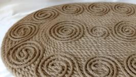 Ковер (коврик) из джута