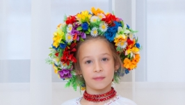 Венок украинский круглый детский
