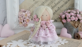 Кукла текстильная. Ручная работа