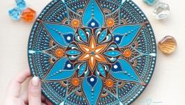 декоративная тарелка ′Sun and Sea′