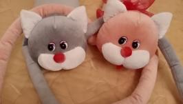 Кот-подушка-игрушка:)