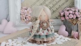 Интерьерная кукла, ангел ручной работы.