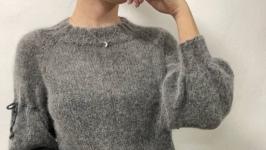 Angora Jumper ′Twilight′ Sleeve 34.