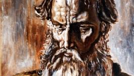 Старик (вольная копия с картины П.Корина)