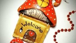 Подвеска-дом ′WELCOME′