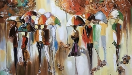 Абстракция,арт «Прогулки Парижем»