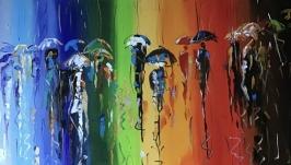 Абстракция,арт «Октябрьские радуги»