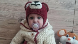 Knitted suit ′Teddy Bear′