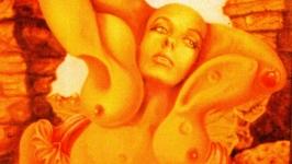 Раздевающаяся женщина  Undressing Woman