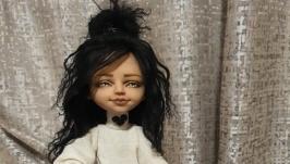 Авторская кукла - Ксюша.
