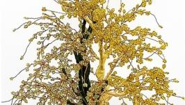 Дерево Ин-Янь из бисера  ′Дорога к солнцу ′