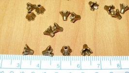 концевик 5 мм бронза