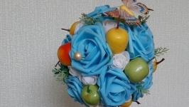 Топиарий ′Синие розы′