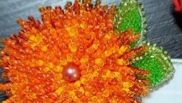 Брошь цветок ′Ноготок′