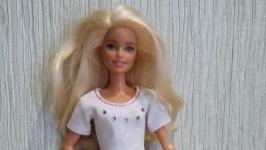 одежда для куклы Барби платье розовое
