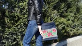 Denim bag, crossbody bags for women