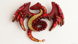 Брошь ′Огненный змей′