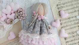 Текстильная кукла. Ручная работа