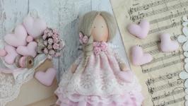 Нежная интерьерная кукла в стиле Тильда