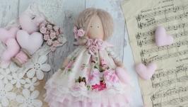 Ангел текстильный в стиле Тильда. кукла ручной работы