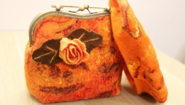 Валяная сумочка ′Каприз′