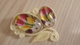 Брошь ′Тюльпаны′